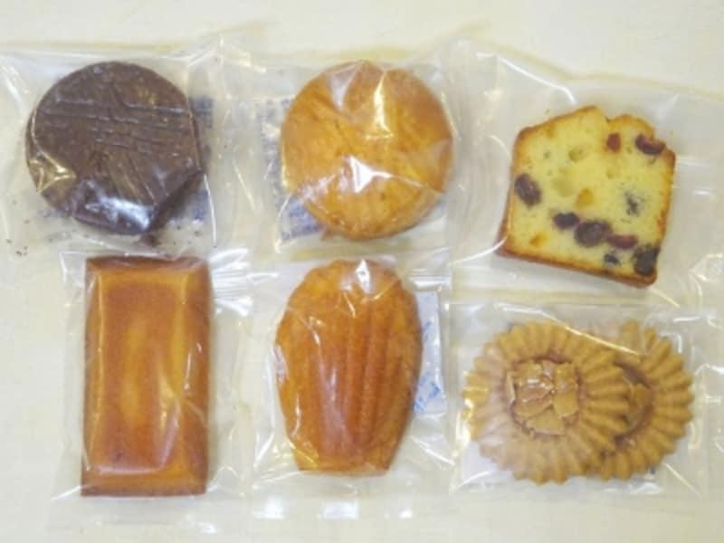 「ポール・サンセール」の焼き菓子類