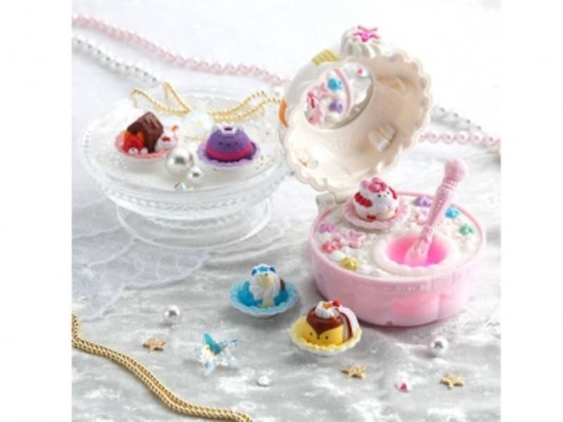 ケーキみたいなかわいいコンパクトは子供部屋のインテリアにもピッタリ