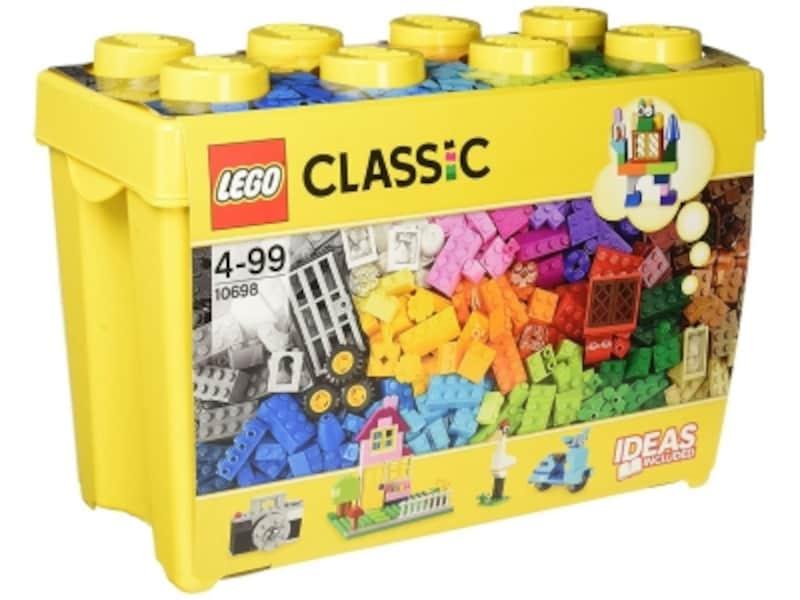 レゴブロックは規格が統一されているので、他のレゴシリーズと組み合わせて遊べるのも魅力です