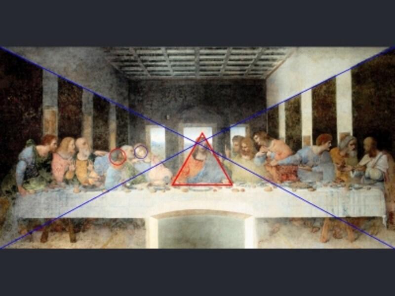 修復前の『最後の晩餐』