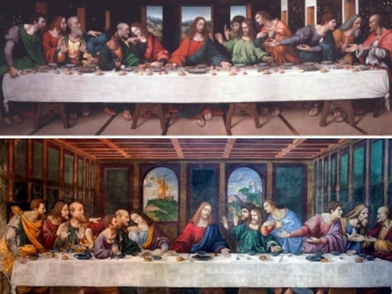 ジャンピエトリーノ『最後の晩餐』、チェーザレ・ダ・セスト『最後の晩餐』