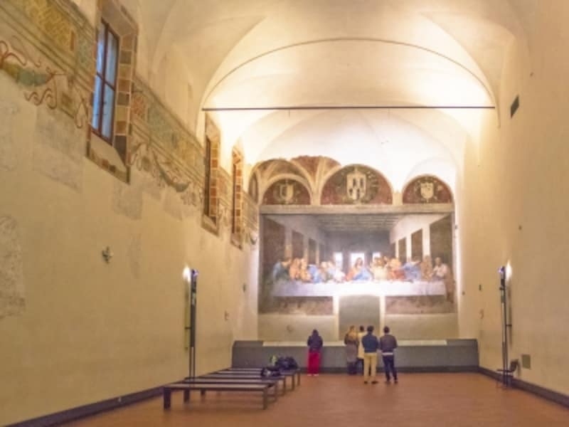 修道院食堂、最後の晩餐、ユネット