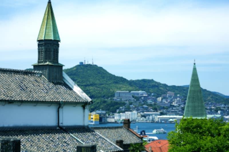 長崎、大浦天主堂、港、一人旅