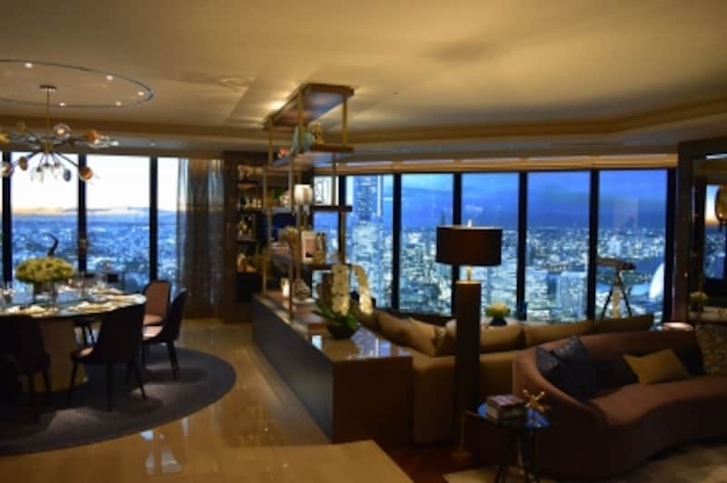 「ザ・タワー横浜北仲」のモデルルーム