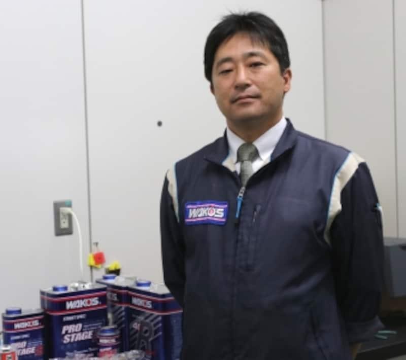 ワコーズ技術部undefined和田岳広課長