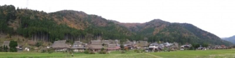 美山かやぶきの里(2)