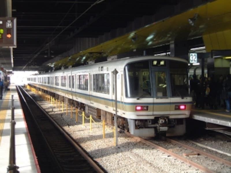 JR嵯峨野線(山陰線)の列車