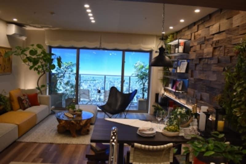 「パークシティ武蔵小山ザタワー」のモデルルーム