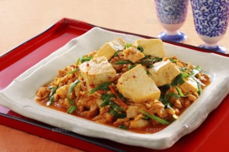 豆腐料理は炒め物もGOOD!