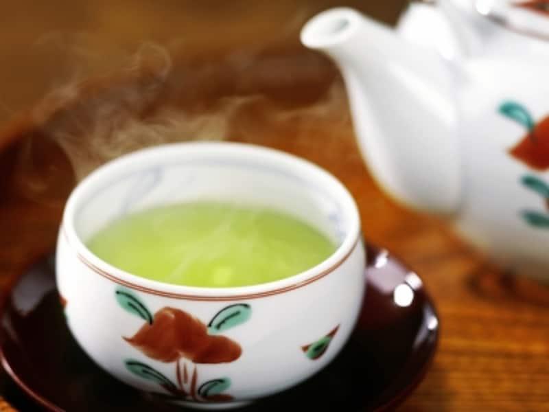 とりあえずビールの前に、あたたかい緑茶を一杯?