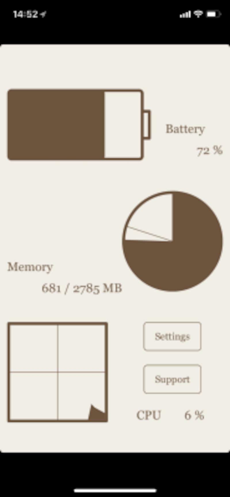 iPhone8,iPhoneX,メモリ,メモリ解放