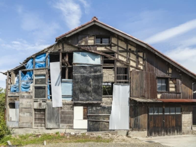 空き家は地震保険に加入できず、補償を得られない