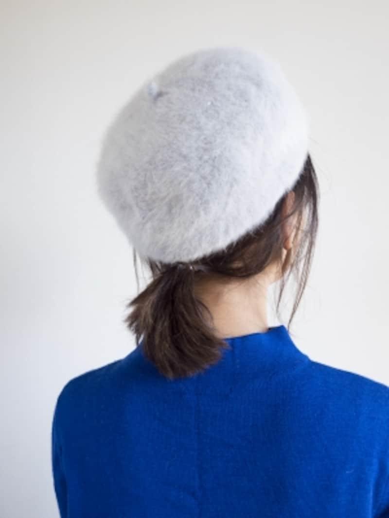 ベレー帽に似合う髪型は?簡単ヘアアレンジのやり方