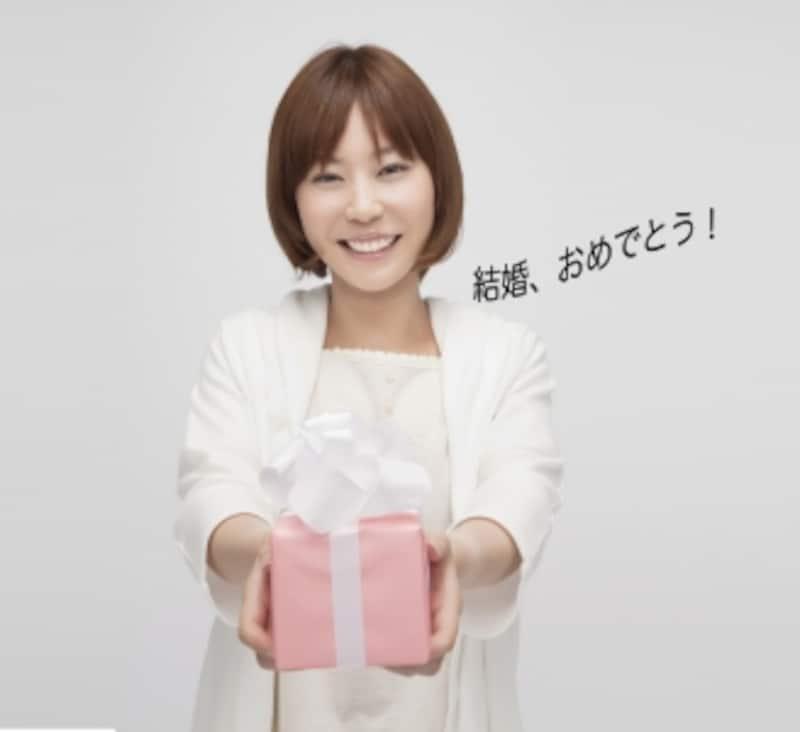 プレゼントを渡す