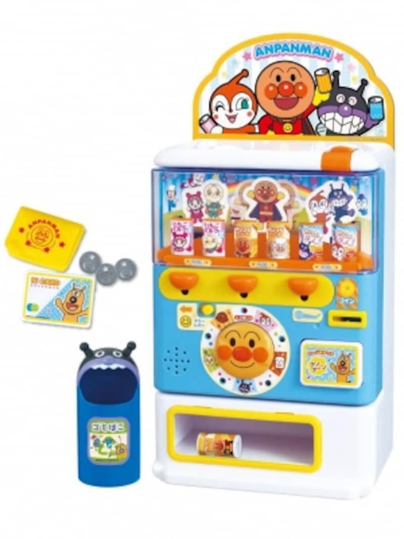 自動販売機でお買い物遊び!お金やカードなどが揃った充実のセットです