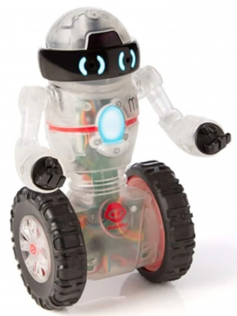 ロボットを動かす指示コードを組み立てて遊ぶうちに、プログラミングの基礎が身に付きます