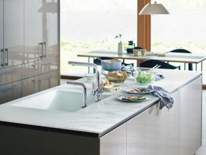 除菌水が出るキッチン
