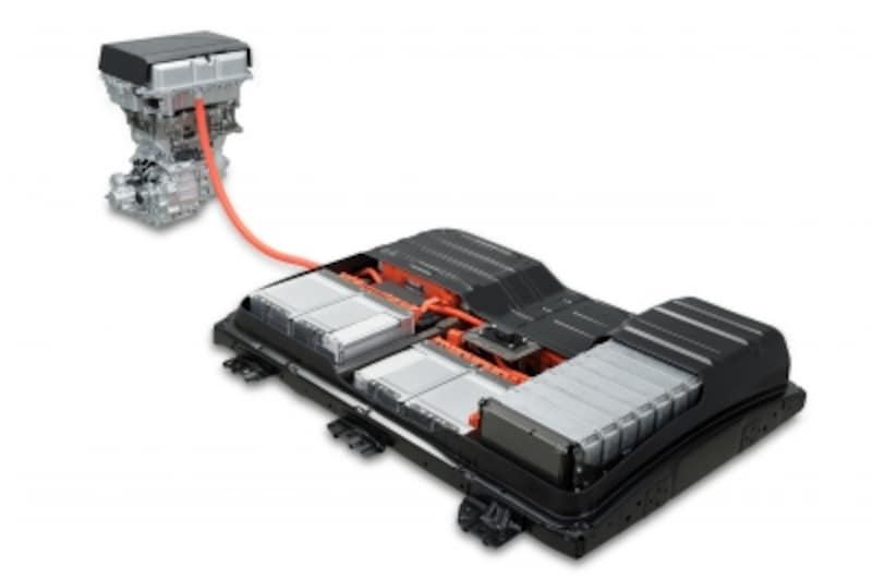 新型リーフundefinedバッテリー画像(2017年)