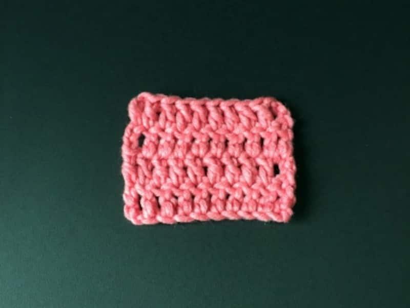 編み物、かぎ針、基礎、長編み、