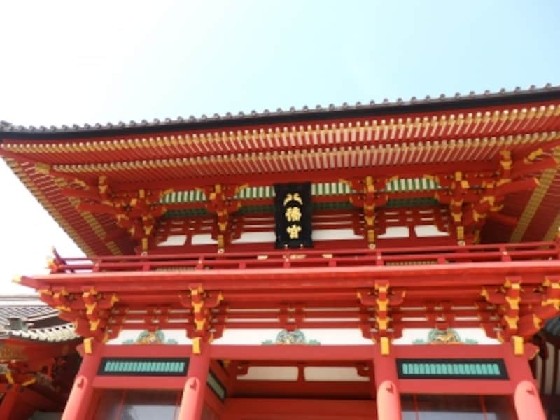鶴岡八幡宮の社殿