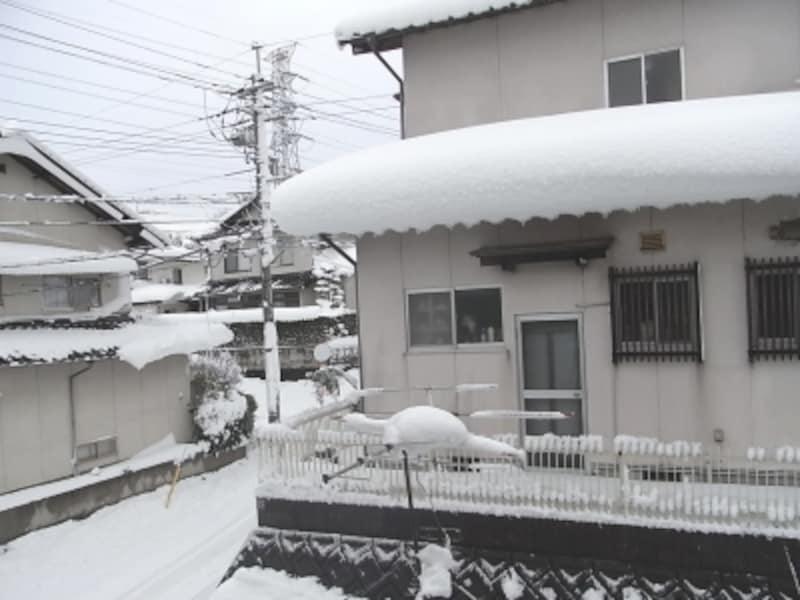 大雪による住宅被害は東京でも2014年に発生