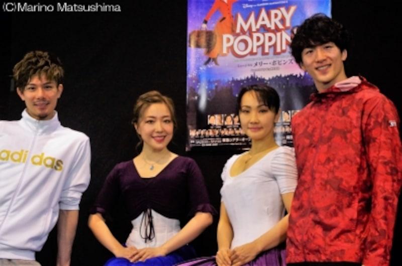 『メリー・ポピンズ』公開稽古にて。(C)MarinoMatsushima