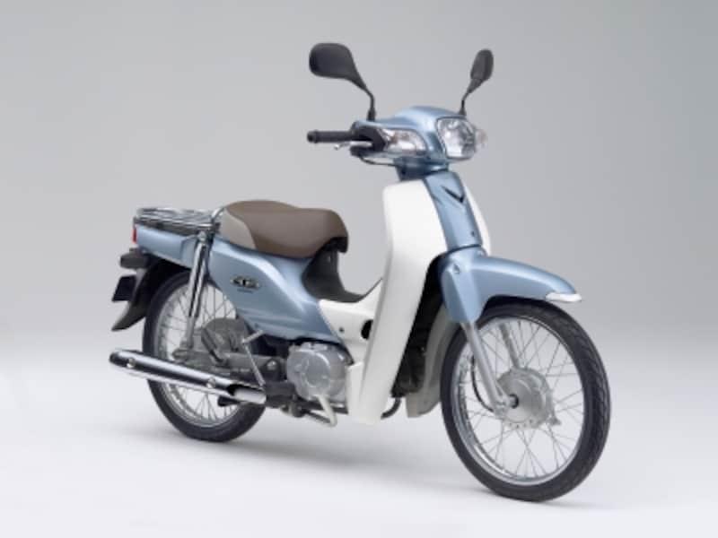 中国で生産されていたスーパーカブundefinedデザインがカクカクしている