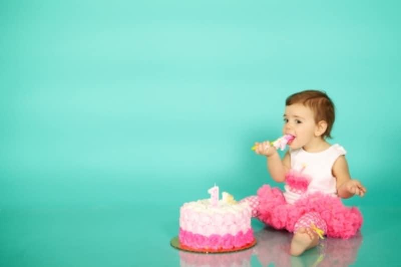 初めてのケーキの反応は?