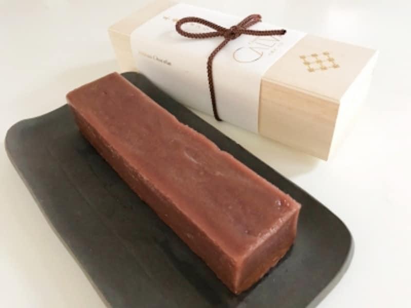 ショコラトリーカルヴァの「ようかんショコラ」2200円