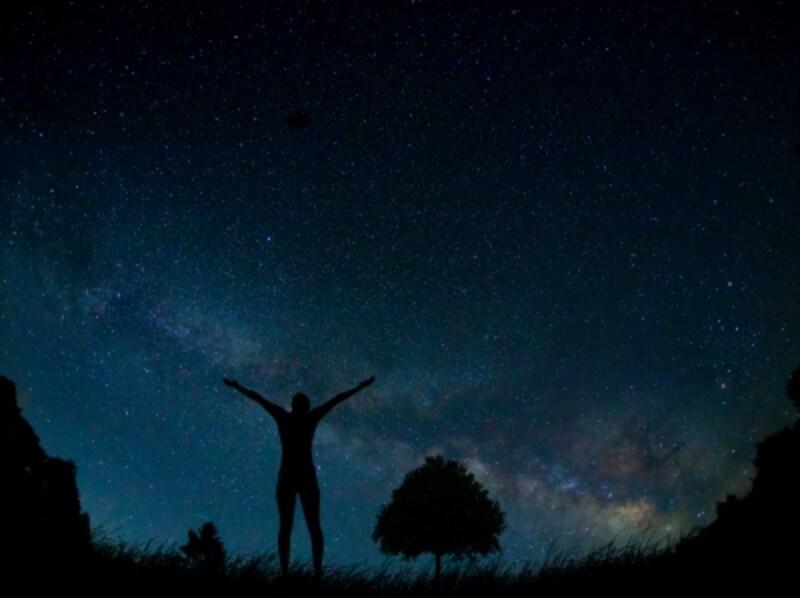 星空には夢とロマンがいっぱい