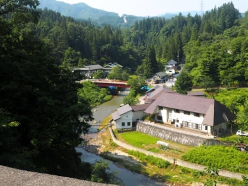 西山温泉.会津西山温泉.滝の湯.......