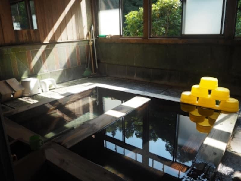 西山温泉.会津西山温泉.下の湯.......