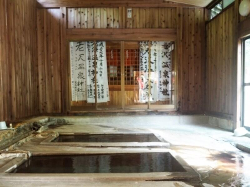 西山温泉.老沢温泉.老沢温泉旅館.....