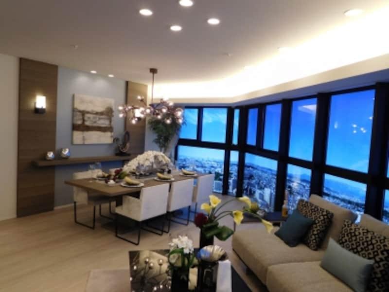 「グレーシアタワー三鷹」のモデルルーム