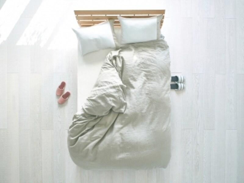 同じ布団でくっついて寝ることが夫婦円満の秘訣!
