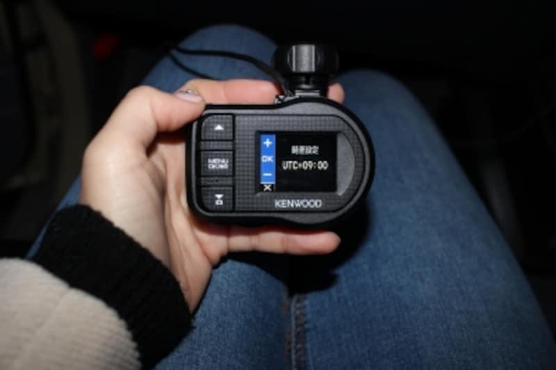 ドライブレコーダー本体の映像を確認し、映像の写り方をしっかり確認しましょう。