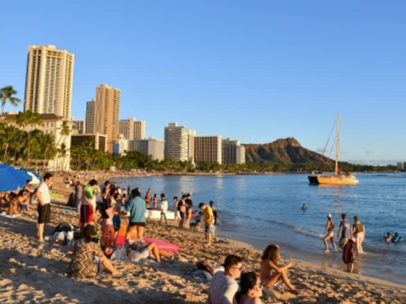 LCCで行くハワイ旅行が人気です