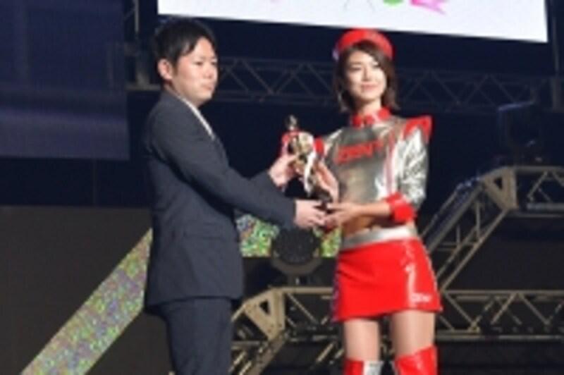 日本レースクイーン大賞で4賞に輝いた藤木由貴さん