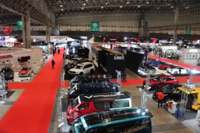 「東京オートサロン2018」は、幕張メッセで1月12日から14日まで開催