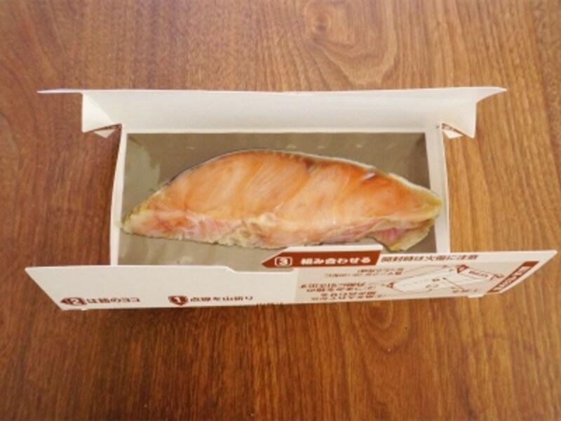 電子レンジで焼魚
