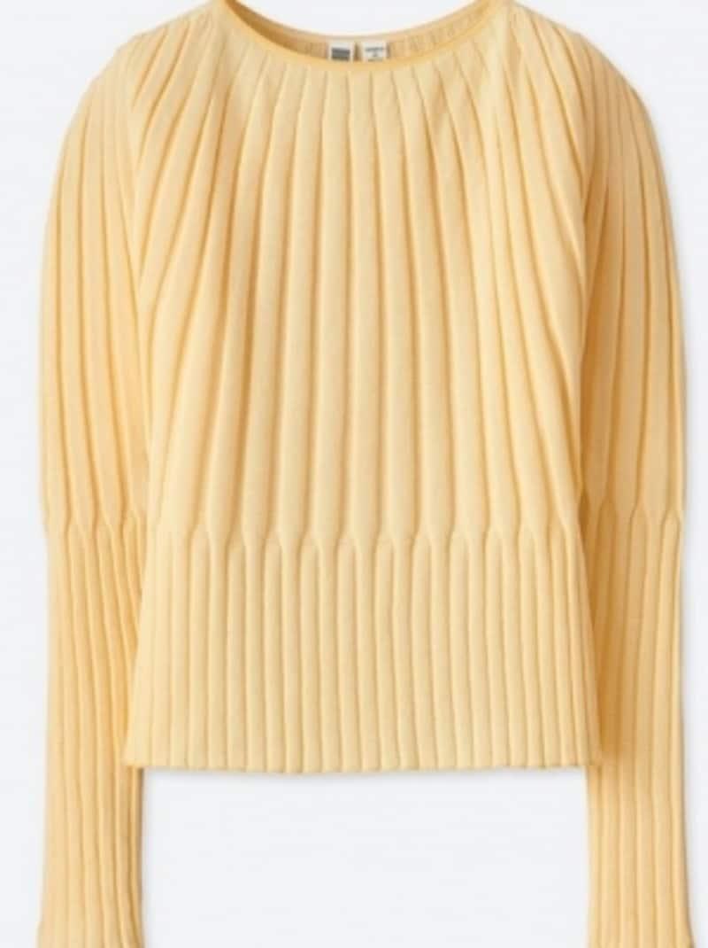 3Dリブバルーンクルーネックセーター(長袖)undefined3990円(税抜)