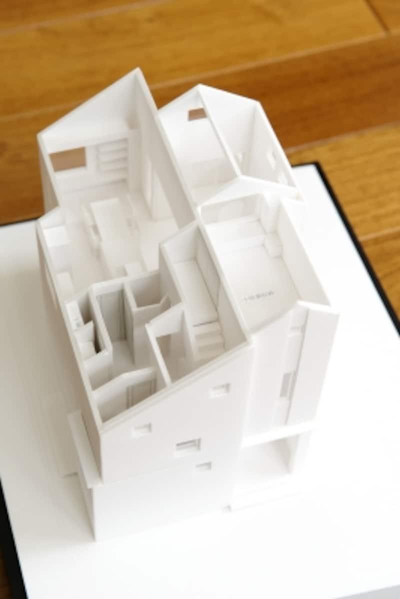 社員の家undefined建築模型