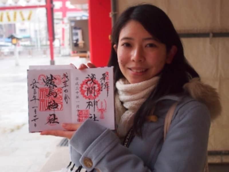 浅草大鷲神社の御朱印代は500円。
