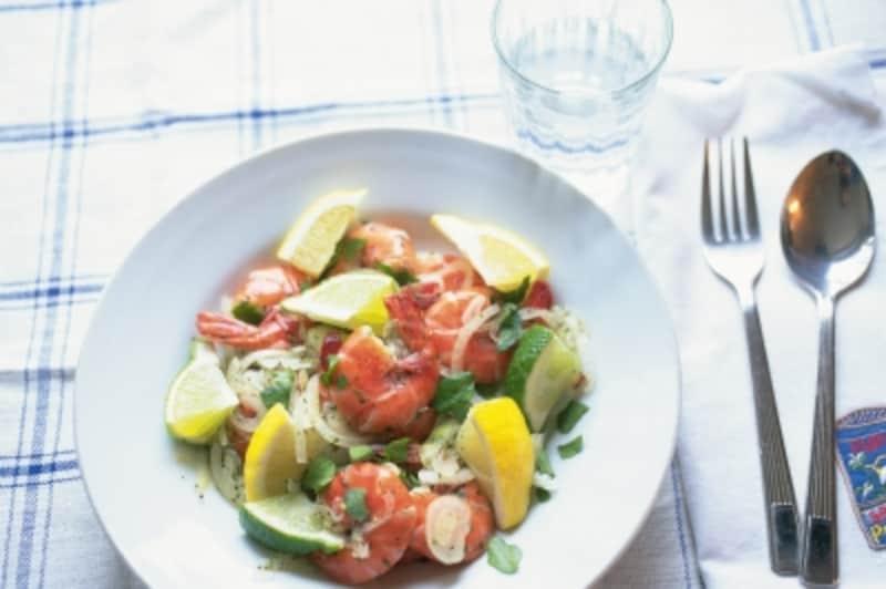 魚介&野菜が一緒にとれるボリューム