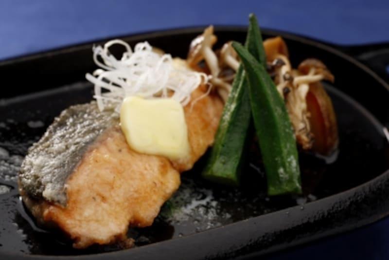 焼き鮭は定番