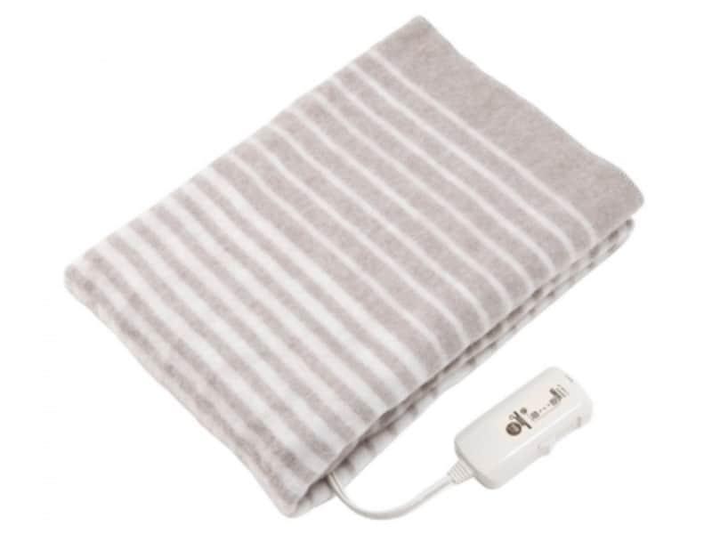 睡眠の質を上げるおすすめ家電。コイズミ(KIOZUMI)「電気敷毛布KDS-5078T」