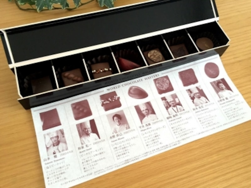 セレクションボックスワールドチョコレートマスターズphotobyなりさん