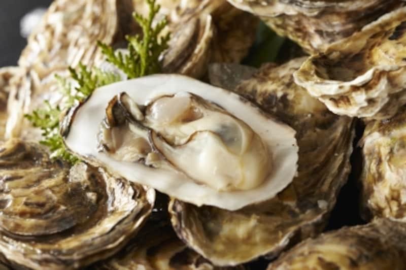 牡蠣の亜鉛含有量は群を抜いています。