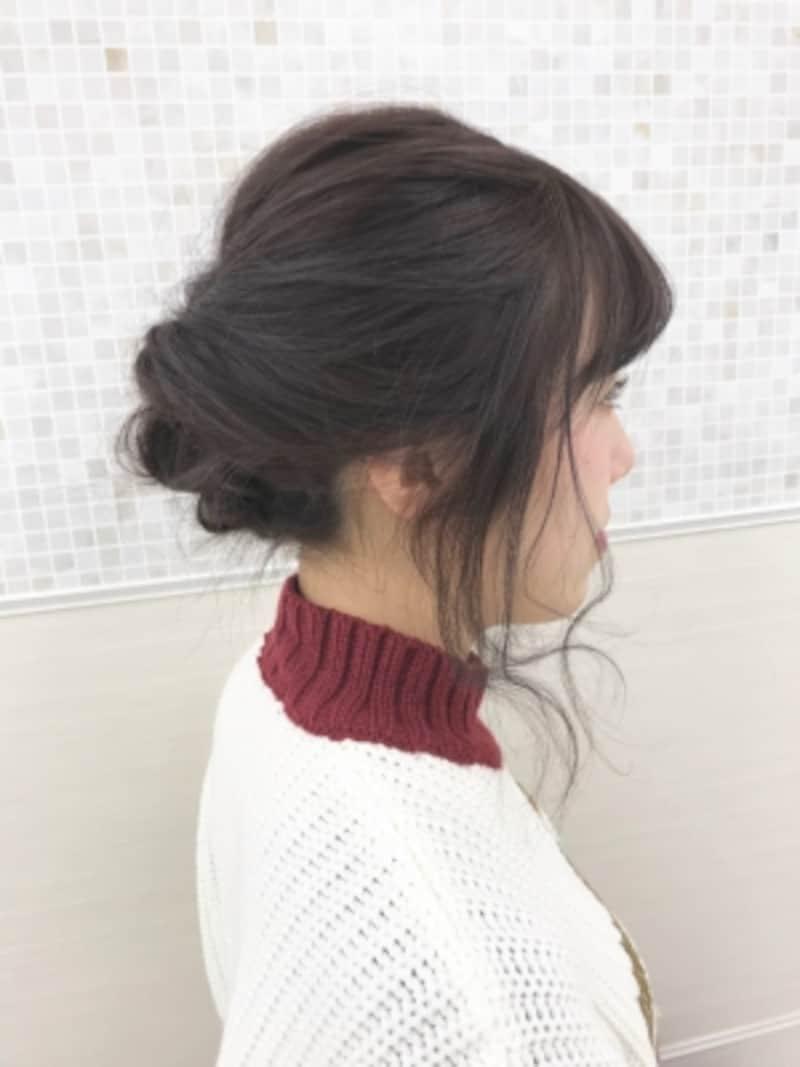 袴に似合う!簡単3ステップでできるまとめ髪