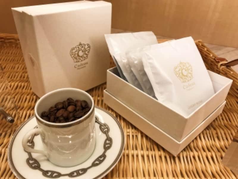 Cadeau(カドー)のコーヒードリップバッグ